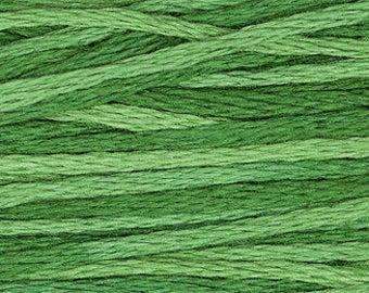 2168 Monkey Grass - Weeks Dye Works 6 Strand Floss