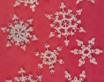 Snowflakes Quilling Papercraft Kit