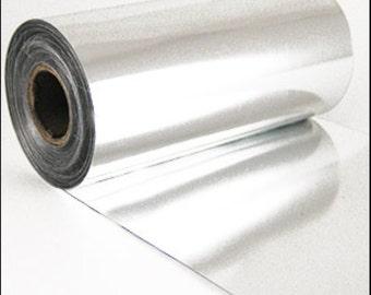 Sequin film. Silver 3m roll. JR04727