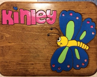 Kids Butterfly Stools