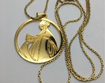 Lanvin iconic necklace vintage