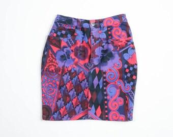 VERSACE - Skirt crazy pattern