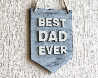 office gifts for dad. Father\u0027s Day Gift - Gifts For Dad, Office Decor Sign, Best Dad Ever,