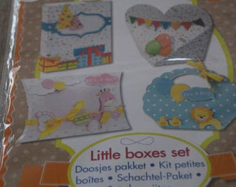 SET of four small boxes to decorate you even
