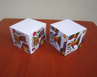 Cubos de Papel / Paper Cubs