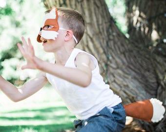 Kids Costume, Fox Costume, Fox Mask and Tail, Halloween Costume for Boys, Toddlers  Costume for Girls, Carnival Costume, Wildlife Costume