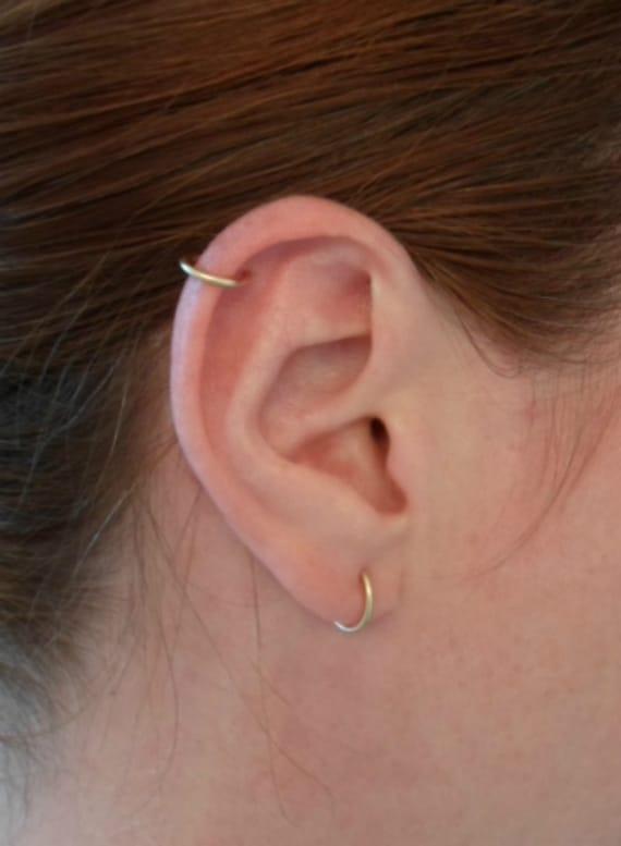 boucles d 39 oreille simple anneau 16 gauge paire oreille. Black Bedroom Furniture Sets. Home Design Ideas
