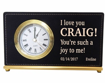 Husband Fathers Day Gift - Gifts for Husband from Wife - Personalized Boyfriend Gift from Girlfriend, LCH001
