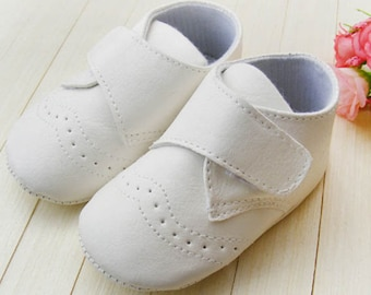 Free Shipping Baptism Christening Wedding Gown Baby Boy/Girl Gown White Soft Shoes