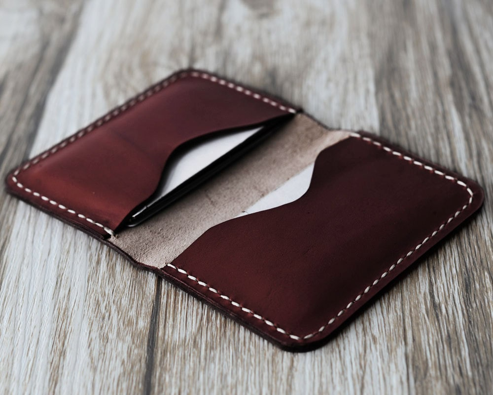 Personalized Leather Business Card Holder 110/ Bussiness Card