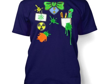 Mad Scientist Costume men's t-shirt