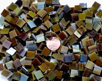 """Medium Brown Mosaic Tile """"Mahogany"""""""