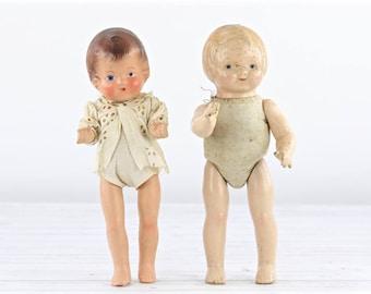 Poupées Vintage Composition Antique Composition poupées ancienne Composition poupées Creepy poupées anciennes