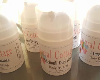 Luscious Silky Body Butter Frosting - Multiple Scents available - Love Spell - Pearberry  - Lemongrass - Lavender - Cherry Almond - Amber