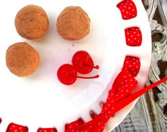 Dark Chocolate Cherry Truffles (16 count)