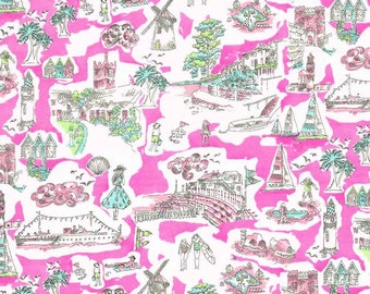Rare Liberty Arts Designer Fabric Tana Lawn - Isle of white - 1.2m