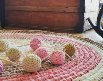 Carpet - Handmade  Rag, Washable Rug, Rag Rug