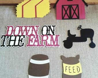 Down on the Farm Die Cut Set