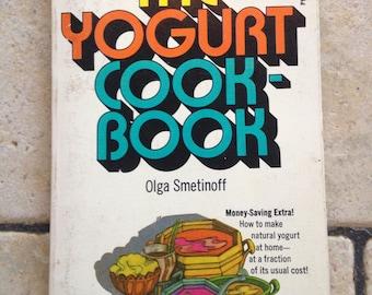 1971 The Yogurt Cookbook Book