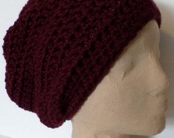 SLOUCH BEANIE  Crocheted