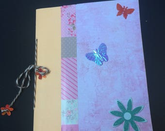 Handmade small notebook