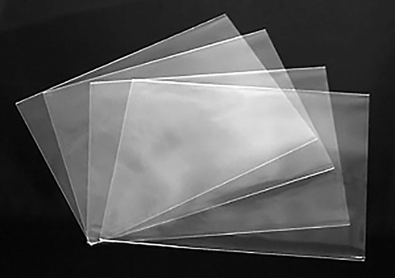 Clear no flap greeting card and notecard sleeves packs of 100 m4hsunfo
