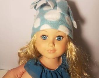 "american girl - 18"" doll fleece hat"