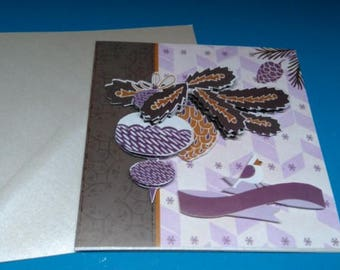 HAND made 750 3D greeting card