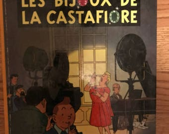 TinTin Vintage Book in French