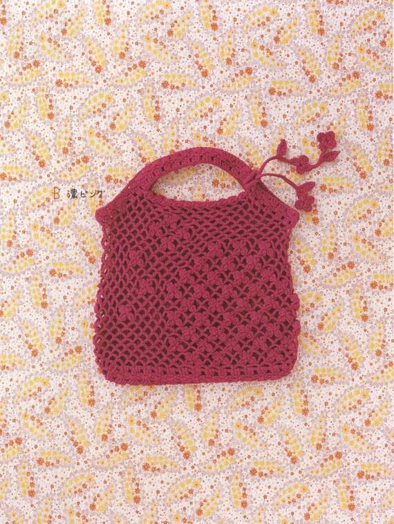 Crochet Bag Patterns Cute Purses PDF PDF Pattern Japanese