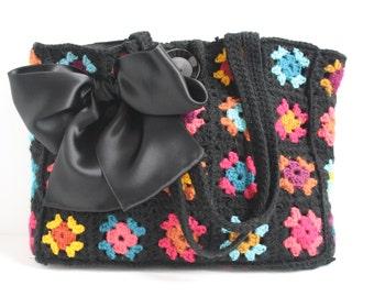 Crochet shoulderbag Betsy