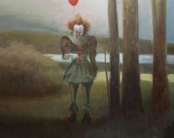 Pennywise - Oil Painting