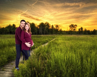 tall green grass field. Digital Background, Photo Overlays, Background Replacement, Photography Backgrounds \u0026 Backdrops, Boardwalk, Tall Green Grass Field U