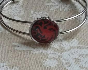 House Targaryen cuff bracelet