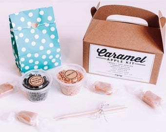 Mini Caramel Apple Kit (Makes 2 Apples - Apples Not Included)