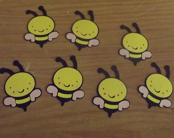 Lot of 7 bumble bees
