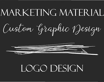 Custom Graphic Design - Logos