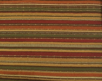 Rustic - Stripe - Upholstery Fabric by the Yard