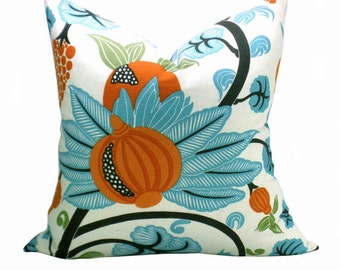 Maharani pillow cover in Turquoise