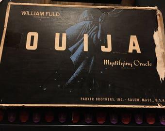 1960's Vintage OUIJA Mystifying Oracle William Fuld Parker Brethers Talking Board set