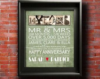 Parents anniversary etsy