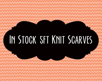 IN STOCK Loom Knit Scarf   5ft Pride, Cosplay, Single Color, Striped, and More!