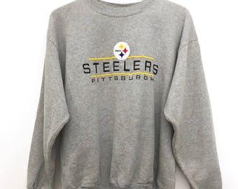 Vintage 90's Pittsburgh Steelers Crewneck
