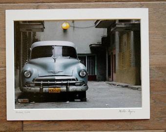 Photo of Car in Havana, Cuba