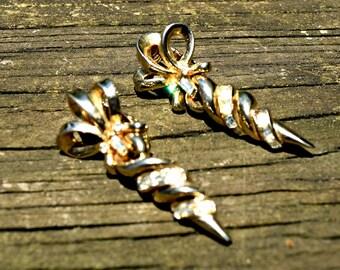 Vintage Coro Earrings Baguette Jewelry High Fashion Jewelry Costume Jewelry