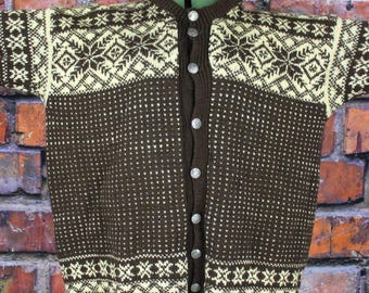 Vintage Nordic Ski Sweater