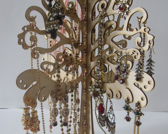 jewellery tree stand. jewelry stand tree, jewelry holder, jewelry organizer, jewelry tree, gift for her, necklace holder, earring holder