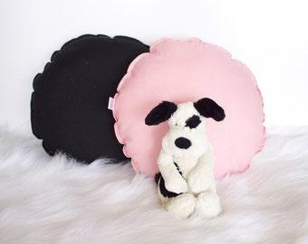 Round Cushion, Cotton Cushion, Nursery Cushion, Kids Bedroom Cushion, Pillow, Round Pillow