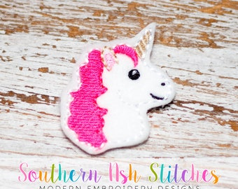 Unicorn Feltie Embroidery Digital Download