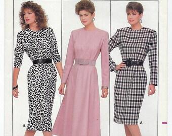 Butterick 5756 - MISSES Dress / Sizes 6, 8, 10